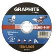 Vágókorong GRAPHITE 57H700 125x1,6x22 fém