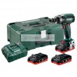 Akkus ütvecsavarozó METABO SSW 18 LTX 400 BL 3x3,5Ah