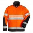 Fluo Patrol kabát narancs/sötétkék