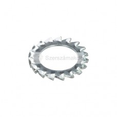 Külső fogazású alátét M12 DIN6798/A